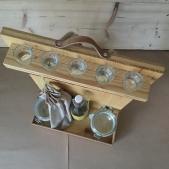 Dřevěný batoh pro labužníky